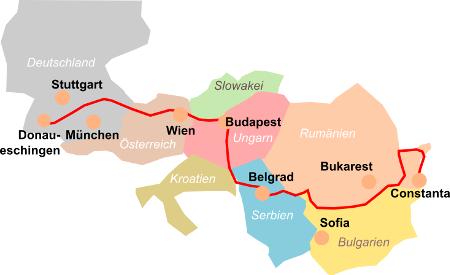 Flusskreuzfahrten Schiffsreisen Auf Der Donau Tourismus Schiegg